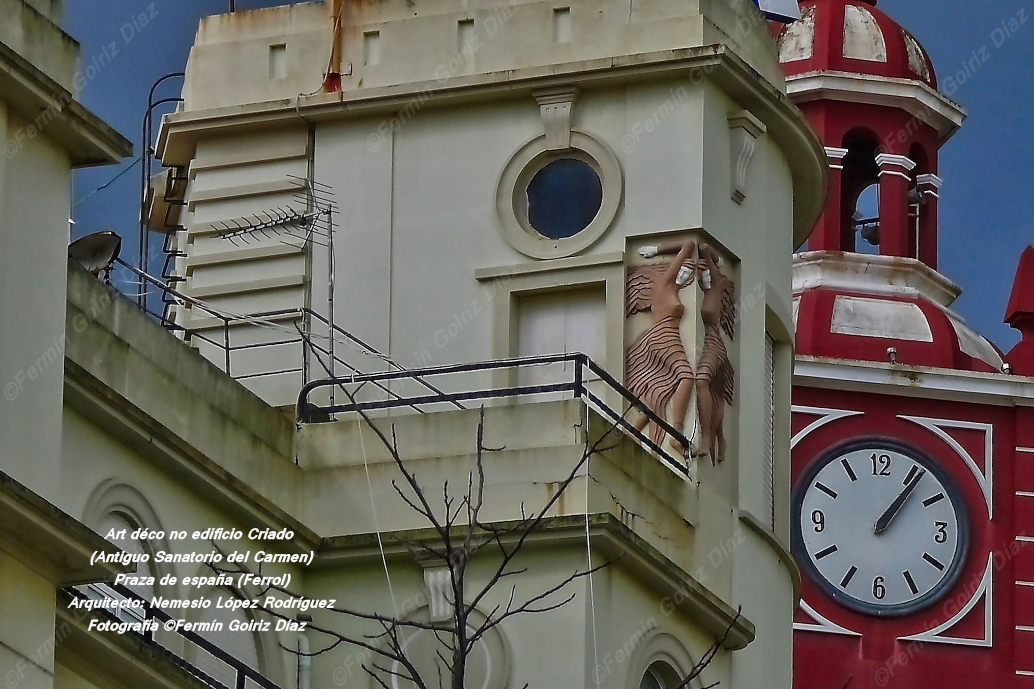 Art déco na praza de España-Ferrol-fotografía por Fermín Goiriz Díaz, 08-03-2013 (2)
