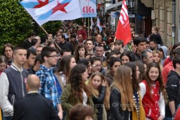 Contra la LOMCE - Huelga General en la Enseñanza Pública en Ferrol - Foto por Fermín Goiriz Díaz, 09-05-2013 (15)