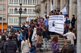 Contra la LOMCE - Huelga General en la Enseñanza Pública en Ferrol - Foto por Fermín Goiriz Díaz, 09-05-2013 (22)