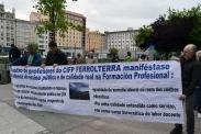 Contra la LOMCE - Huelga General en la Enseñanza Pública en Ferrol - Foto por Fermín Goiriz Díaz, 09-05-2013 (3)
