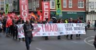 primero de mayo 2013 en Ferrol