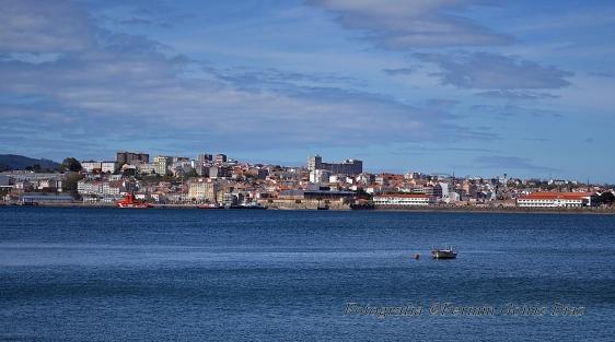Ferrol Skyline - fotografía por fermín goiriz díaz, 14-06-2013