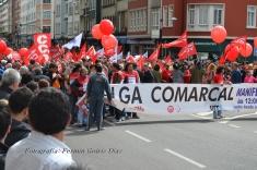 Folga Comarcal Ferrol, Huelga General Ferrol, 12 de xuño de 2013 - manifestación Ferrol, 12-06-2013 - fotografía por Fermín Goiriz Díaz(12)