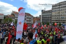Folga Comarcal Ferrol, Huelga General Ferrol, 12 de xuño de 2013 - manifestación Ferrol, 12-06-2013 - fotografía por Fermín Goiriz Díaz(132)