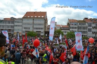 Folga Comarcal Ferrol, Huelga General Ferrol, 12 de xuño de 2013 - manifestación Ferrol, 12-06-2013 - fotografía por Fermín Goiriz Díaz(135)