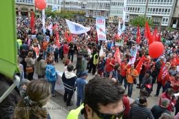 Folga Comarcal Ferrol, Huelga General Ferrol, 12 de xuño de 2013 - manifestación Ferrol, 12-06-2013 - fotografía por Fermín Goiriz Díaz(138)
