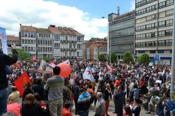 Folga Comarcal Ferrol, Huelga General Ferrol, 12 de xuño de 2013 - manifestación Ferrol, 12-06-2013 - fotografía por Fermín Goiriz Díaz(142)