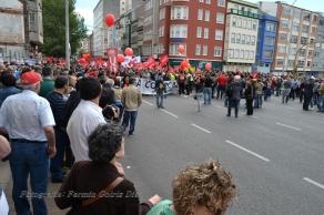 Folga Comarcal Ferrol, Huelga General Ferrol, 12 de xuño de 2013 - manifestación Ferrol, 12-06-2013 - fotografía por Fermín Goiriz Díaz(16)