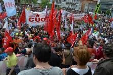 Folga Comarcal Ferrol, Huelga General Ferrol, 12 de xuño de 2013 - manifestación Ferrol, 12-06-2013 - fotografía por Fermín Goiriz Díaz(167)