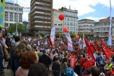 Folga Comarcal Ferrol, Huelga General Ferrol, 12 de xuño de 2013 - manifestación Ferrol, 12-06-2013 - fotografía por Fermín Goiriz Díaz(174)