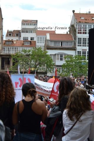 Folga Comarcal Ferrol, Huelga General Ferrol, 12 de xuño de 2013 - manifestación Ferrol, 12-06-2013 - fotografía por Fermín Goiriz Díaz(179)