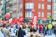 Folga Comarcal Ferrol, Huelga General Ferrol, 12 de xuño de 2013 - manifestación Ferrol, 12-06-2013 - fotografía por Fermín Goiriz Díaz(18)