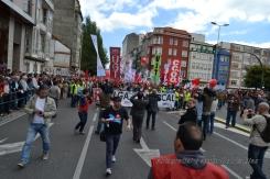 Folga Comarcal Ferrol, Huelga General Ferrol, 12 de xuño de 2013 - manifestación Ferrol, 12-06-2013 - fotografía por Fermín Goiriz Díaz(34)