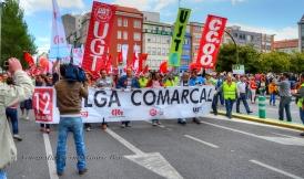 Folga Comarcal Ferrol, Huelga General Ferrol, 12 de xuño de 2013 - manifestación Ferrol, 12-06-2013 - fotografía por Fermín Goiriz Díaz(35)