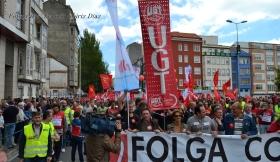 Folga Comarcal Ferrol, Huelga General Ferrol, 12 de xuño de 2013 - manifestación Ferrol, 12-06-2013 - fotografía por Fermín Goiriz Díaz(36)