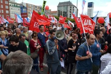 Folga Comarcal Ferrol, Huelga General Ferrol, 12 de xuño de 2013 - manifestación Ferrol, 12-06-2013 - fotografía por Fermín Goiriz Díaz(47)