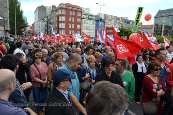 Folga Comarcal Ferrol, Huelga General Ferrol, 12 de xuño de 2013 - manifestación Ferrol, 12-06-2013 - fotografía por Fermín Goiriz Díaz(48)