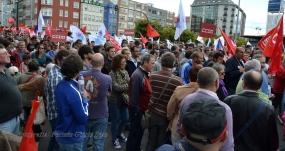 Folga Comarcal Ferrol, Huelga General Ferrol, 12 de xuño de 2013 - manifestación Ferrol, 12-06-2013 - fotografía por Fermín Goiriz Díaz(51)