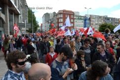 Folga Comarcal Ferrol, Huelga General Ferrol, 12 de xuño de 2013 - manifestación Ferrol, 12-06-2013 - fotografía por Fermín Goiriz Díaz(54)
