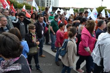 Folga Comarcal Ferrol, Huelga General Ferrol, 12 de xuño de 2013 - manifestación Ferrol, 12-06-2013 - fotografía por Fermín Goiriz Díaz(58)