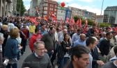 Folga Comarcal Ferrol, Huelga General Ferrol, 12 de xuño de 2013 - manifestación Ferrol, 12-06-2013 - fotografía por Fermín Goiriz Díaz(66)