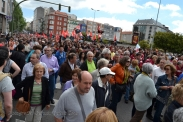 Folga Comarcal Ferrol, Huelga General Ferrol, 12 de xuño de 2013 - manifestación Ferrol, 12-06-2013 - fotografía por Fermín Goiriz Díaz(76)