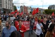 Folga Comarcal Ferrol, Huelga General Ferrol, 12 de xuño de 2013 - manifestación Ferrol, 12-06-2013 - fotografía por Fermín Goiriz Díaz(81)