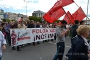 Folga Comarcal Ferrol, Huelga General Ferrol, 12 de xuño de 2013 - manifestación Ferrol, 12-06-2013 - fotografía por Fermín Goiriz Díaz(82)