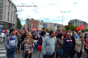 Folga Comarcal Ferrol, Huelga General Ferrol, 12 de xuño de 2013 - manifestación Ferrol, 12-06-2013 - fotografía por Fermín Goiriz Díaz(83)