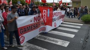 Folga Comarcal Ferrol, Huelga General Ferrol, 12 de xuño de 2013 - manifestación Ferrol, 12-06-2013 - fotografía por Fermín Goiriz Díaz(88)