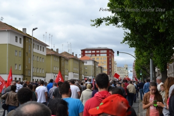 Folga Comarcal Ferrol, Huelga General Ferrol, 12 de xuño de 2013 - manifestación Ferrol, 12-06-2013 - fotografía por Fermín Goiriz Díaz(92)