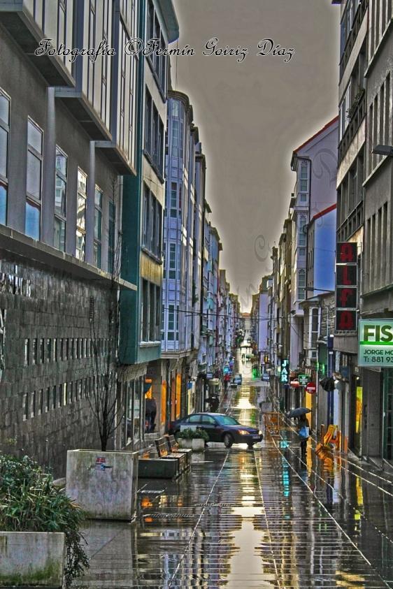 Rúa Real (Ferrol) - fotografía por Fermín Goiriz Díaz