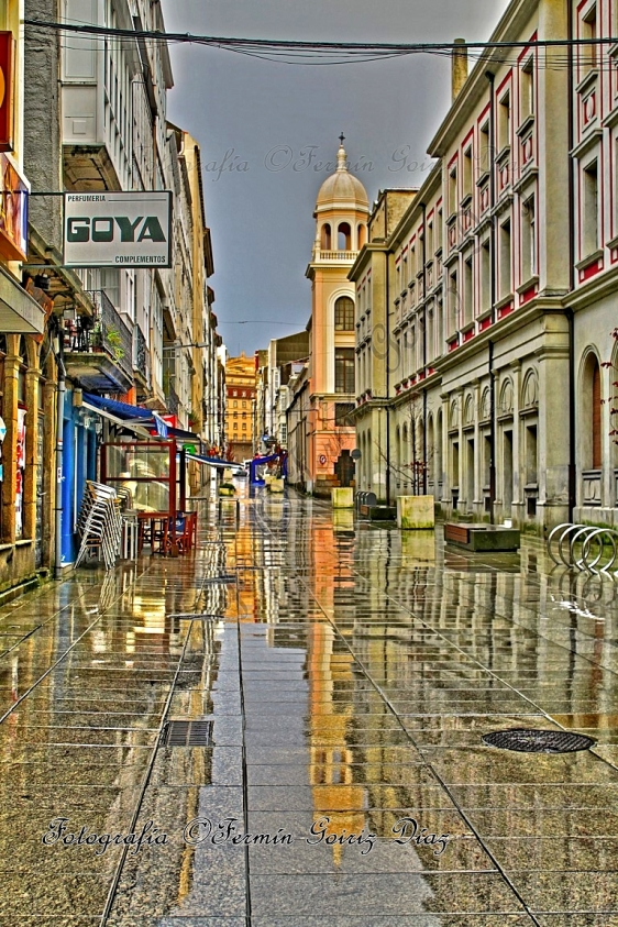 Rúa María (Ferrol) - Fotografía por Fermín Goiriz Díaz