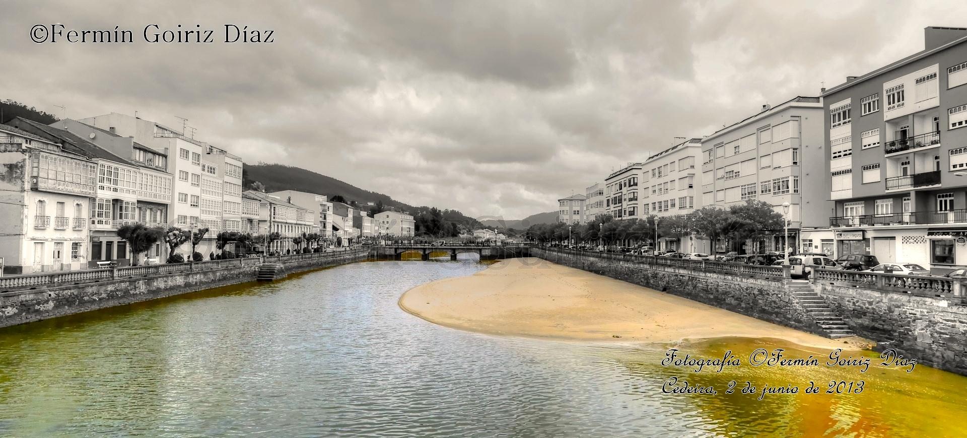 Vistas de Cedeira - río Condomiñas - fotografía por Fermín Goiriz díaz, 02-06-2013 (1)