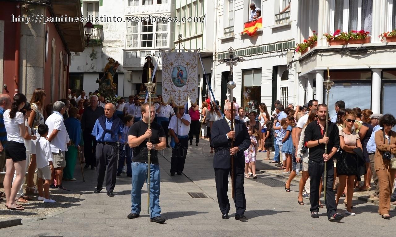 Procesión en honor a la virgen del mar - patrona de Cedeira, 15-08-2013 - fotografía por Fermín Goiriz Díaz (26)