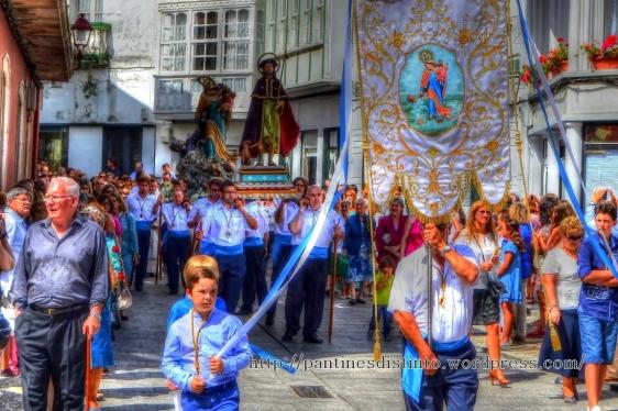 Procesión en honor a la virgen del mar - patrona de Cedeira, 15-08-2013 - fotografía por Fermín Goiriz Díaz (27)