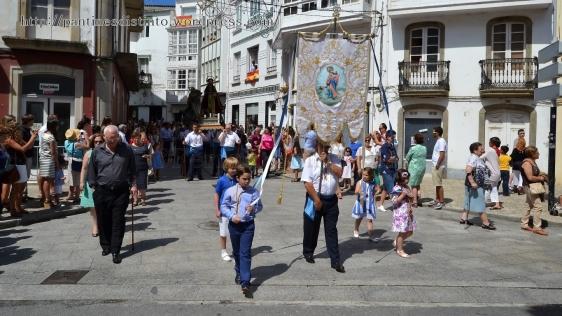 Procesión en honor a la virgen del mar - patrona de Cedeira, 15-08-2013 - fotografía por Fermín Goiriz Díaz (28)