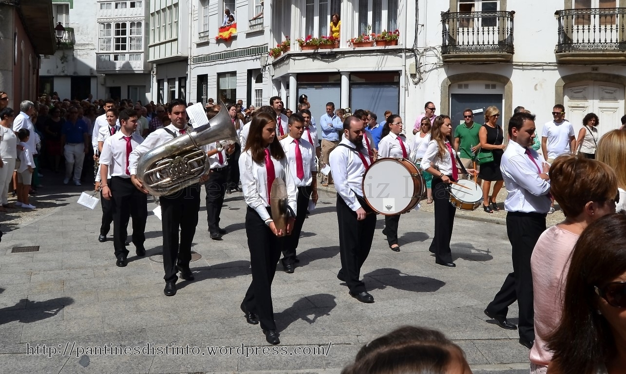 Procesión en honor a la virgen del mar - patrona de Cedeira, 15-08-2013 - fotografía por Fermín Goiriz Díaz (32)