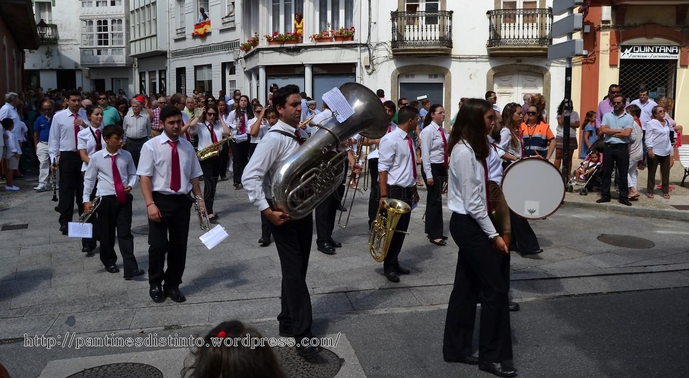 Procesión en honor a la virgen del mar - patrona de Cedeira, 15-08-2013 - fotografía por Fermín Goiriz Díaz (33)