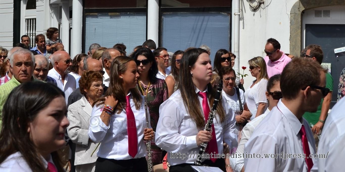 Procesión en honor a la virgen del mar - patrona de Cedeira, 15-08-2013 - fotografía por Fermín Goiriz Díaz (34)