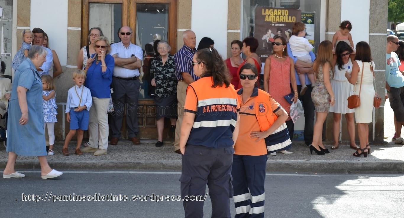 Procesión en honor a la virgen del mar - patrona de Cedeira, 15-08-2013 - fotografía por Fermín Goiriz Díaz (4)