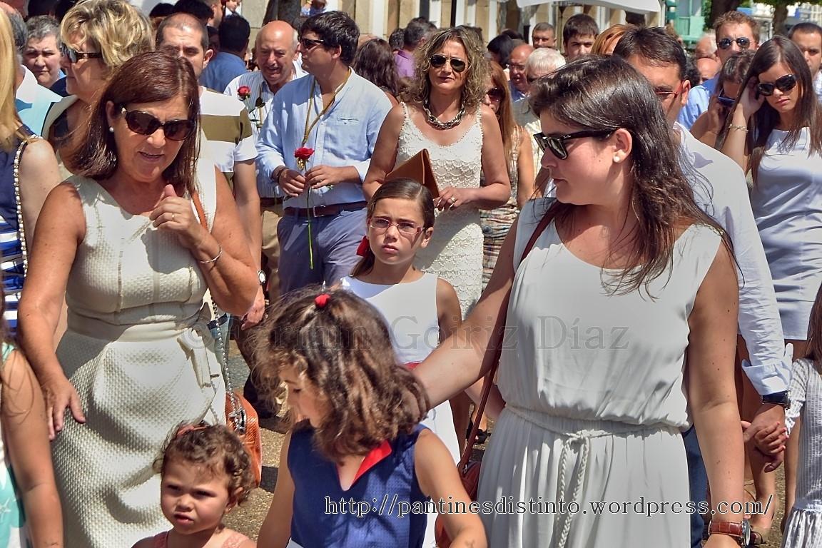 Procesión en honor a la virgen del mar - patrona de Cedeira, 15-08-2013 - fotografía por Fermín Goiriz Díaz (54)