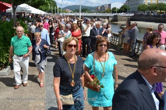 Procesión en honor a la virgen del mar - patrona de Cedeira, 15-08-2013 - fotografía por Fermín Goiriz Díaz (60)