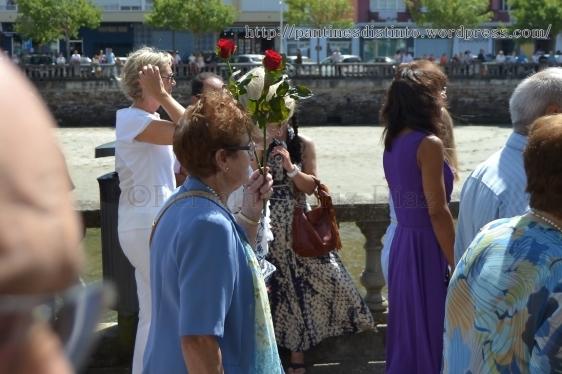 Procesión en honor a la virgen del mar - patrona de Cedeira, 15-08-2013 - fotografía por Fermín Goiriz Díaz (61)