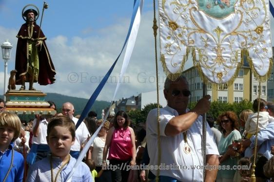 Procesión en honor a la virgen del mar - patrona de Cedeira, 15-08-2013 - fotografía por Fermín Goiriz Díaz (68)
