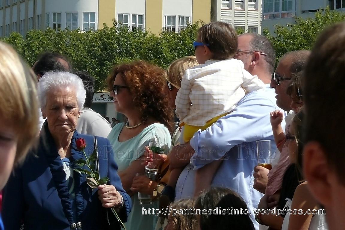 Procesión en honor a la virgen del mar - patrona de Cedeira, 15-08-2013 - fotografía por Fermín Goiriz Díaz (69)