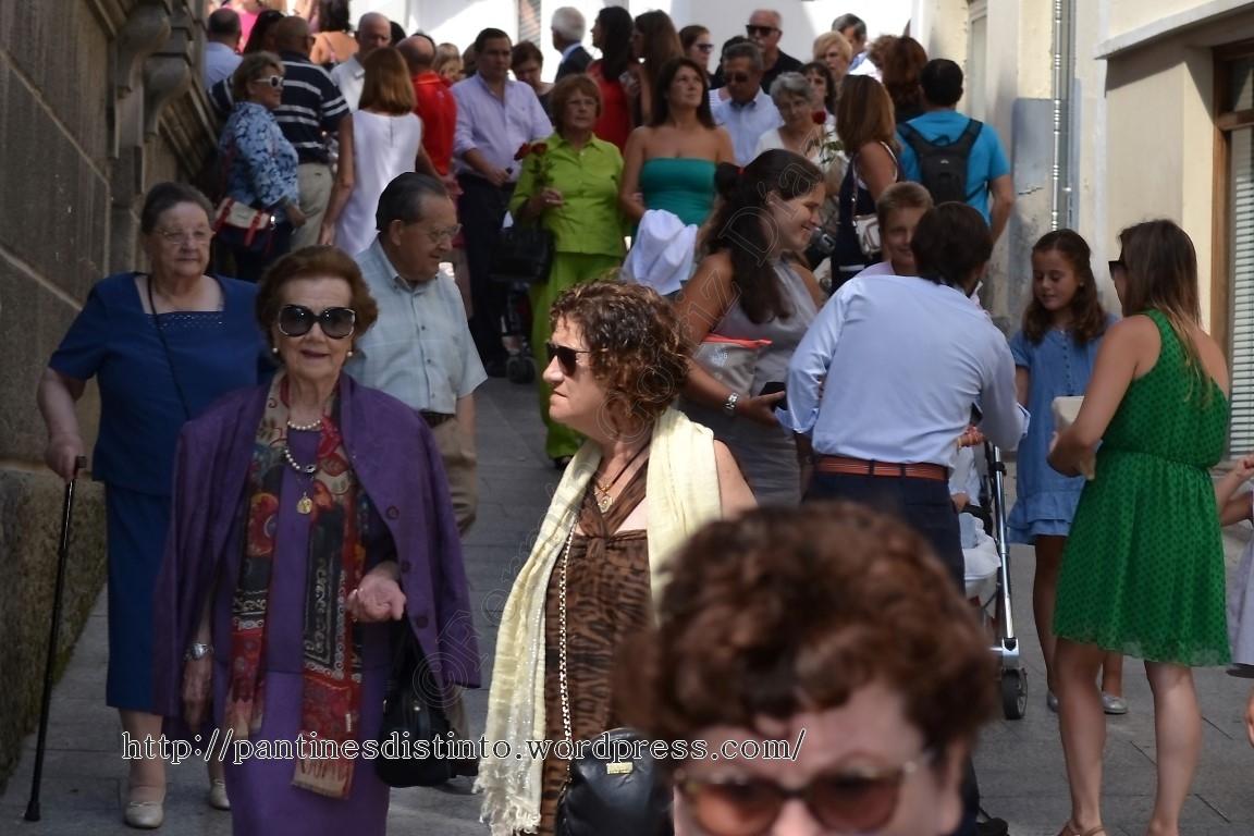 Procesión en honor a la virgen del mar - patrona de Cedeira, 15-08-2013 - fotografía por Fermín Goiriz Díaz (7)