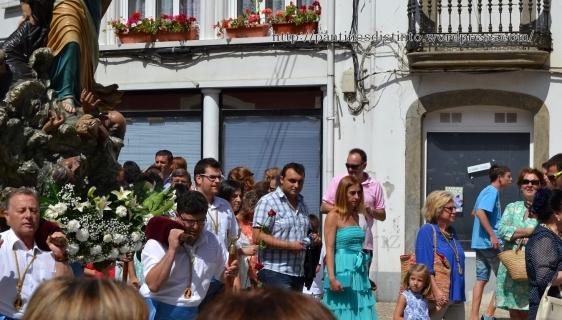 Procesión en honor a la virgen del mar - patrona de Cedeira, 15-08-2013 - fotografía por Fermín Goiriz Díaz (78)