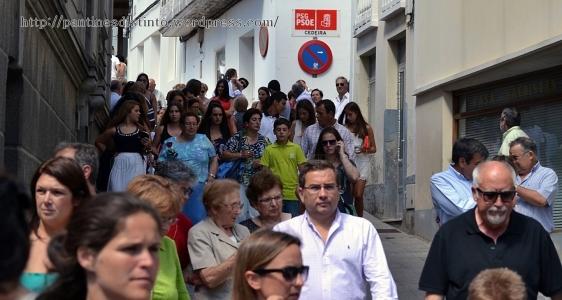 Procesión en honor a la virgen del mar - patrona de Cedeira, 15-08-2013 - fotografía por Fermín Goiriz Díaz (9)