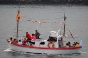 Procesión marítima en honor a la virgen del mar - Cedeira, 16-08-2013 - Fotografía por fermín Goiriz Díaz (18)